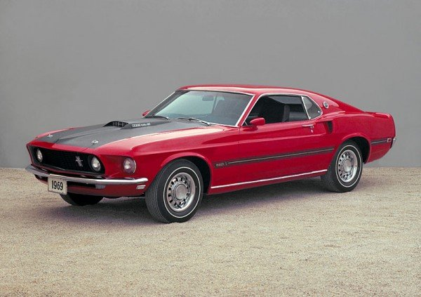 1969 Mustang Mach 1 Fastback